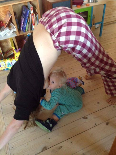 Amning af større barn